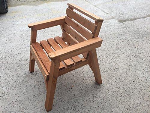 Heavy Duty Chaise de jardin en bois. * Super robuste *
