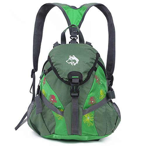 Leichte Bergsteigen Beutel Diagonal Schulter Tasche 15L Green