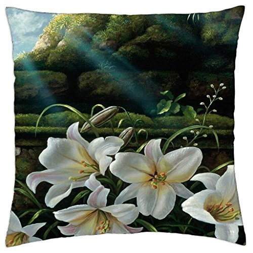 lilies-bloom-to-light-throw-pillow-cover-case-18-x-18