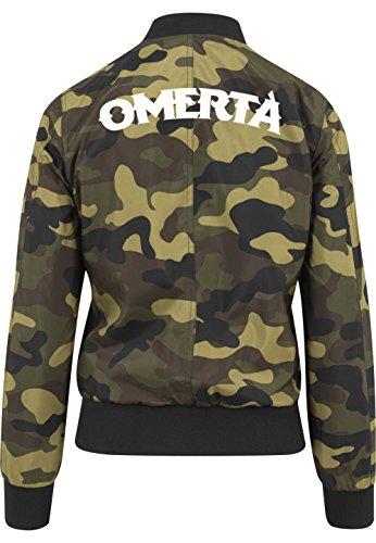 Omerta Bomberjacke Girls Camouflage Certified Freak-XL
