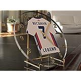 David Beckham 7???Inglaterra Legend–Camiseta de fútbol reloj de escritorio???Fútbol Legends?dition Limit?E