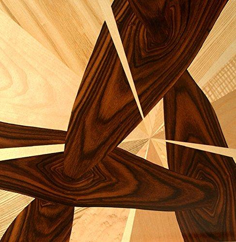 """moderne Intarsie - """"Durchbohrt"""""""