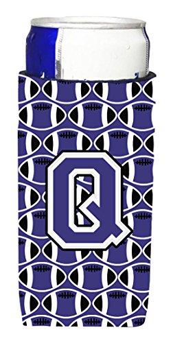 letra-q-de-futbol-purpura-y-blanco-michelob-ultra-koozies-para-latas-delgado-cj1068-qmuk