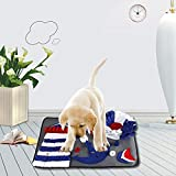 ZABB Large Size Dog Feeding Mat Sniffing Pad Pet Toy Training Blanket for All Cats Dogs.