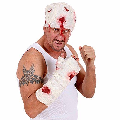 Armee Arzt Kostüm Erwachsene Für - WIDMANN 7886M Blutverschmierte Armbandage, Mehrfarbig, One Size