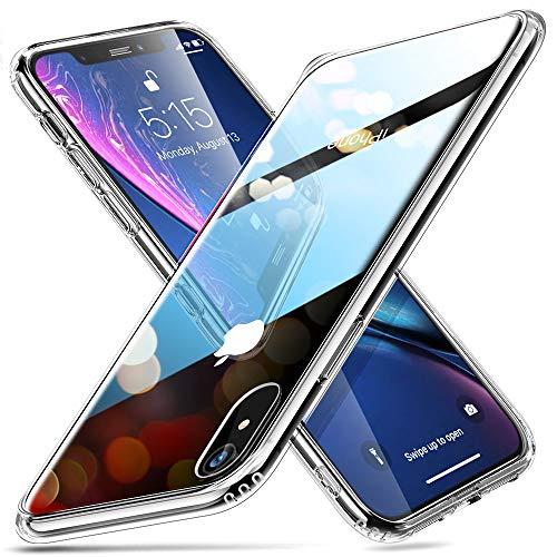 1. ESR - Funda de cristal templado iPhone XR