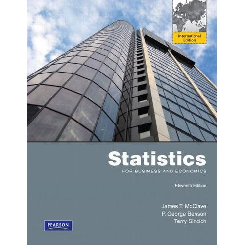 Statistics for Business and Economics: International Edition