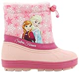 Die Eiskönigin Mädchen Girls Kids Boots Snowboot Schneestiefel, Pink (Fuchsia), 26 EU