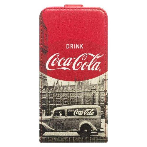 Coca-Cola Klapphülle City Cab für Apple iPhone 4 / 4S
