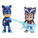 PJ Masks 2 Pack Figure Set - Catboy and Wolfie Howler