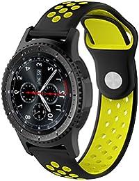 Pinhen Correa para Amazfit Bip - 20mm Silicona Correa de Repuesto para Galaxy Watch 42mm,