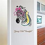 3D Stickers muraux bricolage, Romance Décoration murale Poster Home Decor (B:50cm*70cm)