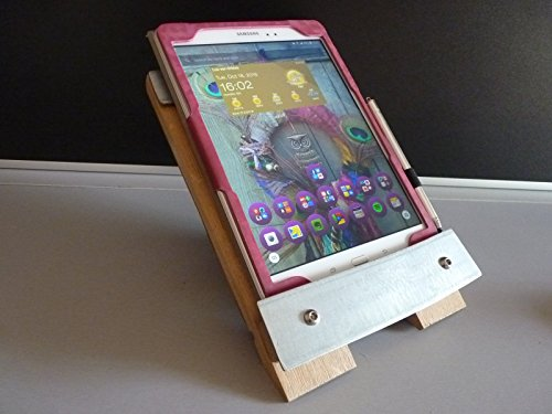 h-andy-easel-tablet-support-e-reader-cookery-book-stand-mobile-telephone-stand-recycled-wine-barrel-