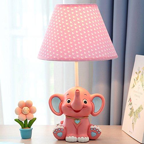AMOS Kinder Tisch Lampe Schlafzimmer Nachttisch Lampe Cartoon Kreative Mode Junge Cute Little Elephant Geschenk kann abgeblendet werden (...