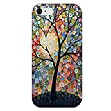 SecondDromi Coole Starlight Bäume Pattern Hard hülle für iphone 5S,für iPhone SE,Mehrfarbig