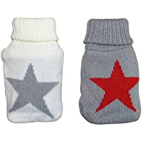 2er Set Handwärmer mit Stricküberzug Star Taschenwärmer Wärmflasche mehrfarb preisvergleich bei billige-tabletten.eu