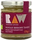 Raw Health Organic Whole Sesame Tahini 170 g (Pack of 3)
