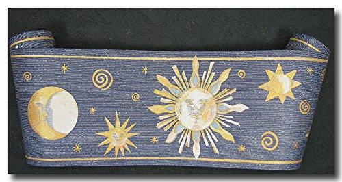 Tapetenborte Bordüre Sonne Mond Sterne 10 Meter lang