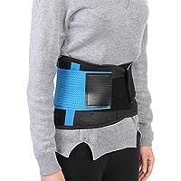 Faja Lumbar para la Espalda Hombre Mujer, Faja Reductor Adelgazante para Corrector de Postura Soporte de Cartílago ABS Soporte Aliviar el Dolor de Espalda(M(100cm))