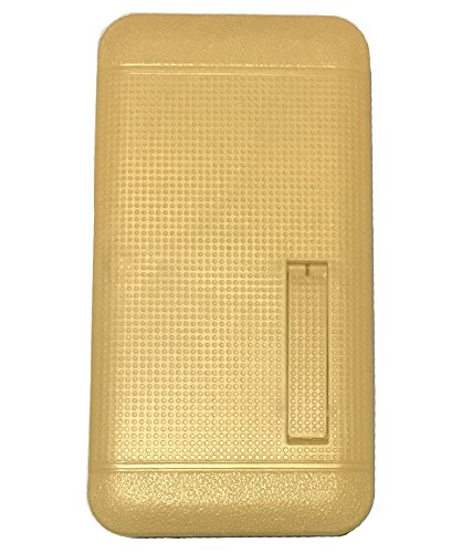 Zocardo Gold Dotted Back Cover For Xolo A600 with stand to view videos, images, heat dissipating - Classy Look  available at amazon for Rs.299