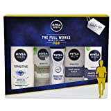 Nivea Men Get Fresh & Smooth Face & Body Care Geschenkset