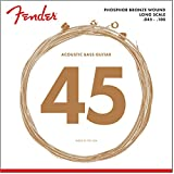 Fender Phosphor Bronze 8060 Acoustic Bass Strings 45-100