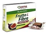 ORTIS - FRUTTA & FIBRE CONCENTRATO 24 cubetti da masticare - TRANSITO...