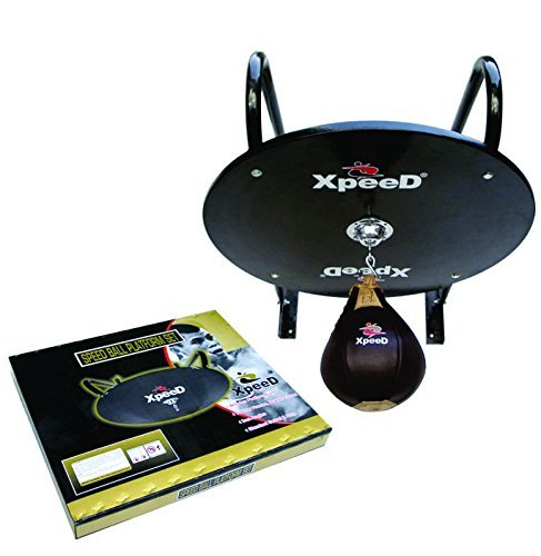 XpeeD Speed Ball/Bag, Ply Wood Wall Hanging Platform with Solid Hard Steel Swivel (XP 1316)