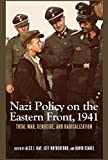 Nazi Germany's invasion of the Soviet Union in June 1941 and events on the Eastern Front that same year were pivotal to the history of World War II. It was during this year that the radicalization ofNazi policy -- through both an all-encompassing app...