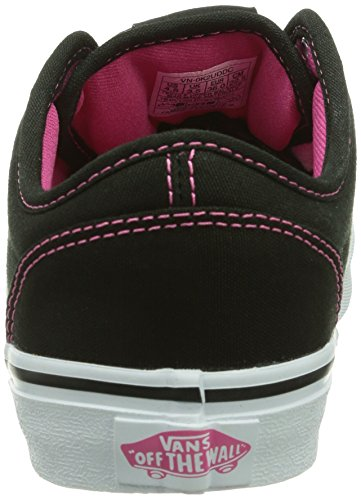 Vans - Z ATWOOD (Canvas), Sneakers da Bambine e ragazze Nero (Schwarz ((Canvas) black/ / DDC))