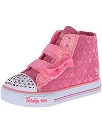 Skechers ShufflesSprinkle Steps - Zapatillas de material sintético para niña