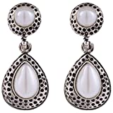 Syonaa Earring in White colour for Women...
