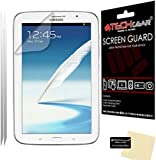 TECHGEAR® **PACK OF 2** CLEAR LCD Screen Protector Guards with Cleaning Cloth For SAMSUNG GALAXY NOTE 8.0 / N5100 / N5110