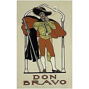 Don Bravo vintage Poster