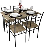 Cecilia 5 Piece Table & Chair Set
