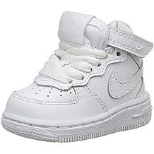 Nike Force 1 Mid (TD) Zapatillas, Bebé-niños