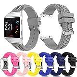 Orologio da polso per Fitbit Ionic, Vneirw pneumatico modello morbido silicone sostituzione Band orologio da polso fascia