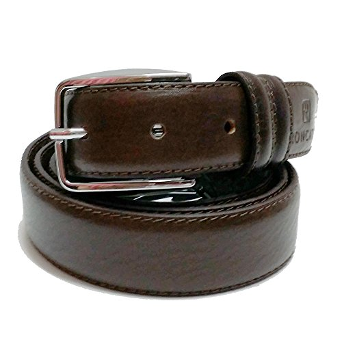 Cintura uomo Roncato in pelle art:503/30 marrone made in italy (vera Pelle)