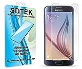 SDTEK Samsung Galaxy S6 Verre Trempé Protecteur d'écran Protection Résistant aux éraflures Glass Screen Protector Vitre Tempered