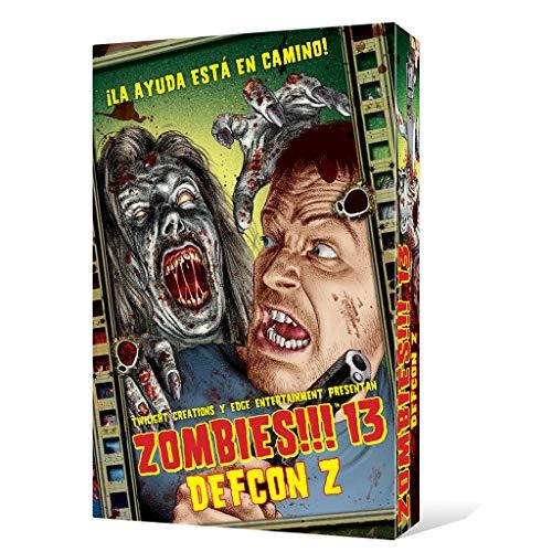 Zombies!!! 13 DEFCON Z - Juego mesa Edge Entertainment