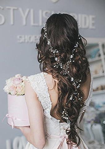 Aukmla Charmante décoration de cheveux pour demoiselle d
