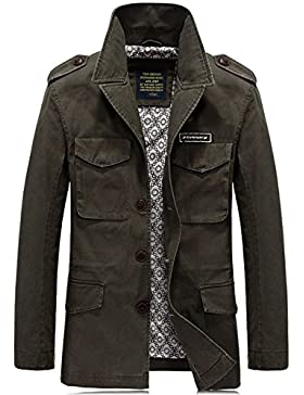 YYZYY - Abrigo - chaqueta - para hombre
