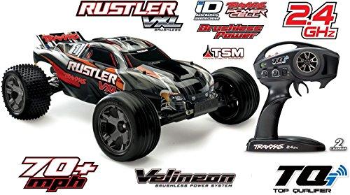 Preisvergleich Produktbild Traxxas Rustler VXL 2WD Brushless Stadium Truck (TSM) Stabilitätssystem *NEW*