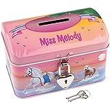 Miss Melody 8510–Tirelire Motif plage