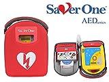 SAVER ONE AED Defibrillator A1 mit vollautomatischer Schockauslösung und Saver One Vollausstattung