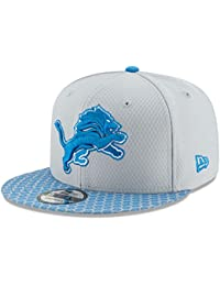 Detroit Lions New Era 9FIFTY NFL 2017 Sideline Snapback Cap (One-Size  ) 24d575bc6576