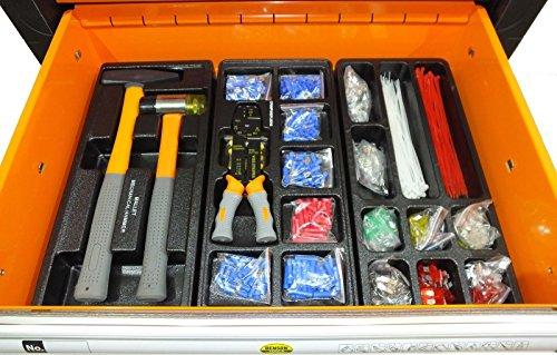 Werkstattwagen gefüllt mit Werkzeug! Werkzeugschrank Werkzeugwagen Werkzeugkiste - 5