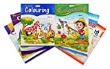 Fun Art Series Colouring Books Set of 6
