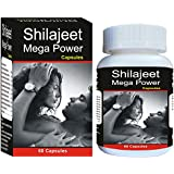 Shivalik 100% Herbals Ayurvedic Shilajit/Shilajeet Mega Power-60 Cap (Improve Strength, Stamina & Power )