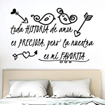 Amazon Es Vinilos Decorativos Frases Amor